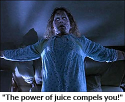 The power of juice compels you!